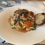 セロニカ - 鮭と自家製イクラのタリオリーニ(ランチ)