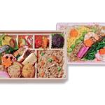 菜乃穂 - お彼岸弁当、ひなまつりちらし