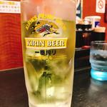 日高屋 - 緑茶ハイ