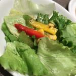 ポポラマーマ - セットのサラダ