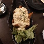 魚と酒と串 ちろり - 鶏肉の春巻き~チキン南蛮風~(680円)