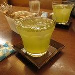 浪花家総本店 - バカ高のアイス煎茶