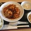 みわ亭 - 料理写真:特製エビのピリ辛ソース☆★★☆lunch(^_^*)