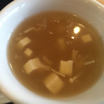74651510 - セット スープ☆★★☆トロミ( ˘ω˘ )b good!!!