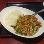 中国料理 酔香園 - 料理写真:ニラレバ丼