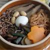 鳩の巣釜めし - 料理写真: