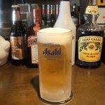 レザーラッシュ - キンキンに冷えたビール♪