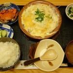 74670959 - あなご柳川鍋定食
