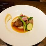 ワインバーD - イベリコ豚のタンパプリカ風味のポトフ