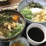 どん太郎 - 料理写真:えび天のぶっかけ丼セット