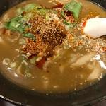 朋友雑穀食府 - 私は削ぎ麺\(^o^)/他のも食べたい