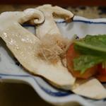 松茸屋 銀座 魚松 - 松茸サラダ