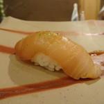 鮨 そえ島 - ◆鰆・づけで・・コレもいい味わい。福岡で頂く鰆は美味しいこと。