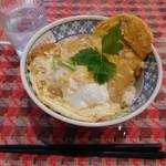 萬ち亭 - カツ丼¥421-