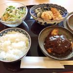 洋食彩酒 アンプリュス - シェフのきまぐれランチ(税別980円)