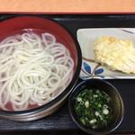 桃山亭 - 料理写真:湯だめ280円 とり天140円