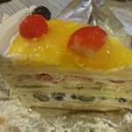 ハーブス - フレッシュフルーツケーキ 1000円