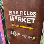 パインフィールズマーケット - 入口の看板です