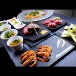 大人の鉄板 Basaro - 【牡丹コース】佐賀牛と魚介を同時に楽しめる当店オススメのスペシャルコースです。※仕入れ状況により、内容は変更の場合がございます。