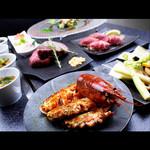 大人の鉄板 Basaro - 【蘭コース】特別な日にも。オマール海老・鮮魚・佐賀牛の贅沢フルコースです。※仕入れ状況により、内容は変更の場合がございます。