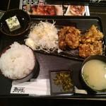 九州 熱中屋 - 竜田揚げ定食
