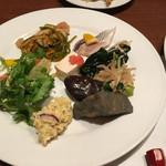 葡萄の杜 互談や - ブッフェのお料理 2017.10