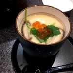 つきじ喜代村 すしざんまい - 茶碗蒸し