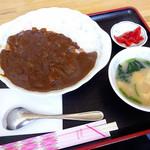 食事処まさ亭 - カツカレー880円