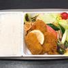 マサイチ本店 - 料理写真:高原野菜とカツの弁当