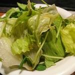 お好み焼 寿里 - 料理写真:サラダ♪