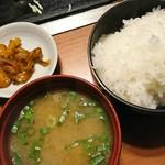 お好み焼 寿里 - 定食のセット♪