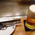 お好み焼 きじ - 生ビール  620円