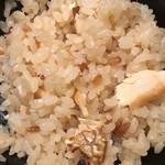 川村料理平 - 鯛飯のアップ