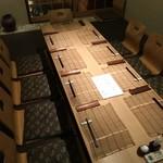 川村料理平 - この日の宴席の場所