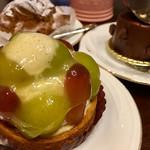 スーリール ダンジュ - 料理写真:ぶどうのタルト(確か)  550円外税