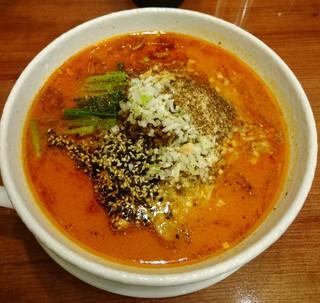 SHIBIRE NOODLE 蝋燭屋 - 担々麺 1000円
