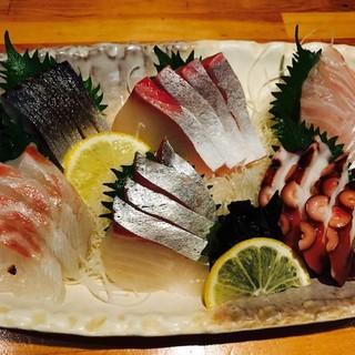 【築地直送】いつも旬、いつも鮮度抜群の鮮魚を贅沢に♪