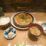 新宿割烹 中嶋 - 柳川鍋定食