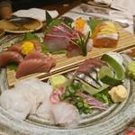 Kimurayahonten - 鮮魚盛り