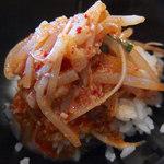 大塚屋 - 辛味噌ラーメン(750円)+半ライス(50円)