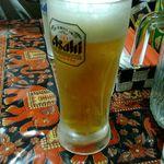 セイロンカリー - 生ビール