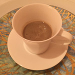 レストラン・モリエール - ごぼうのスープ