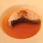 レストラン・モリエール - アブラコ ブイヤベースのソースと