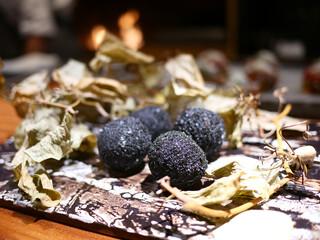 TACUBO - 原木椎茸の竹炭パン粉ライスコロッケ