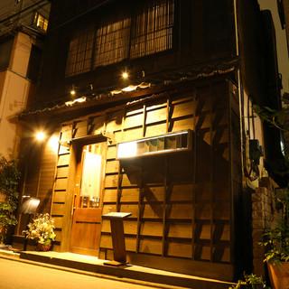 古民家を改装して作られた趣ある佇まいの隠れ家でゆったり和食を