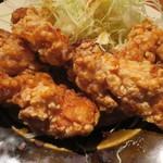 やまや - 鶏の唐揚げ明太風味定食