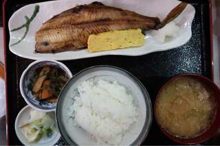 魚谷 - とろホッケ焼き定食870円