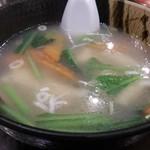 74695045 - ・雲呑スープ 580円
