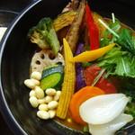 74695576 - チキンと一日分の野菜20品目