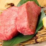 生肉専門店 焼肉 金次郎 - 超厚切りタン塩